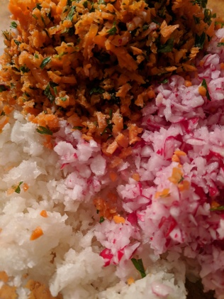 Winter Radish with Carrot